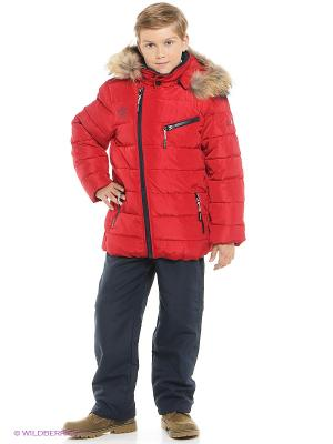 Куртка MES AMI. Цвет: красный