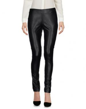 Повседневные брюки MANILA GRACE DENIM. Цвет: черный