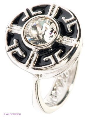Кольцо Jenavi. Цвет: серебристый, черный