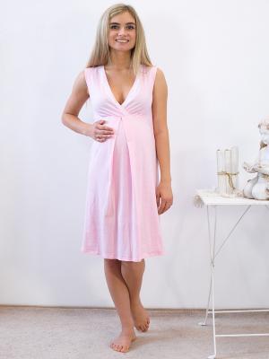 Ночная сорочка Адель. Цвет: бледно-розовый