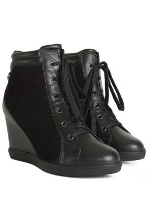 Ботинки Ballin. Цвет: черный