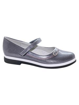 Туфли ТОМ.М. Цвет: серый