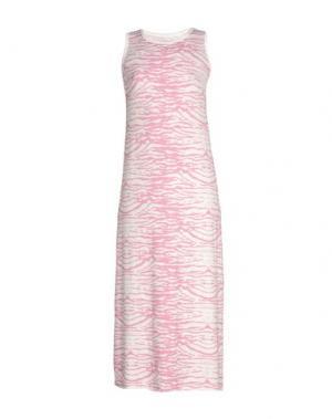 Платье длиной 3/4 SWEET ROSEE. Цвет: розовый