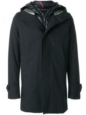 Многослойное пуховое пальто Rrd. Цвет: чёрный