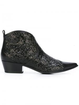 Ботинки в стиле Вестерн Tomas Maier. Цвет: чёрный