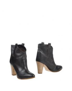 Полусапоги и высокие ботинки LAURÈN. Цвет: темно-коричневый