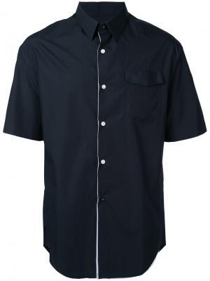 Многослойная рубашка Consistence. Цвет: чёрный