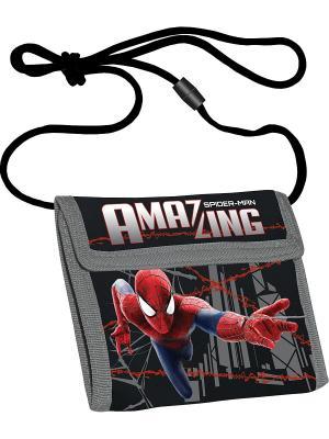Кошелек Spider-Man. Цвет: черный, красный, синий