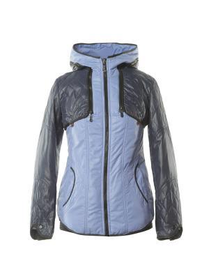 Куртка City Classic. Цвет: темно-синий, голубой