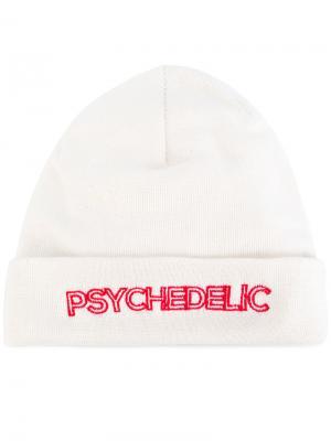 Шапка Psychedelic Omc. Цвет: белый