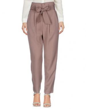 Повседневные брюки TOY G.. Цвет: голубиный серый