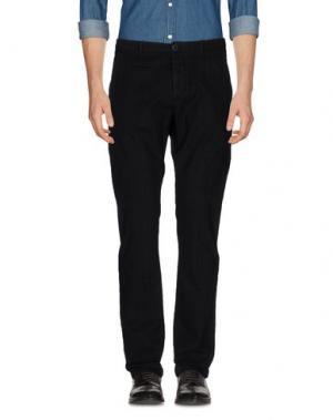 Повседневные брюки UNIFORM. Цвет: черный