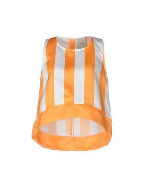 Топ без рукавов JIJIL. Цвет: оранжевый
