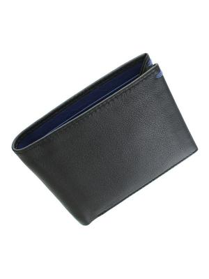 Бумажник Knight Visconti. Цвет: черный