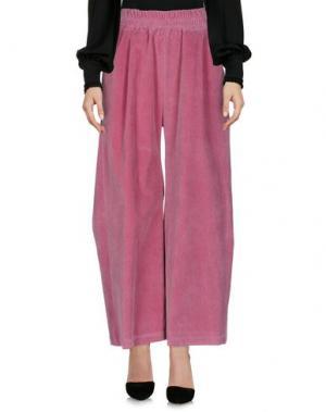 Повседневные брюки HIDDEN FOREST MARKET. Цвет: пурпурный