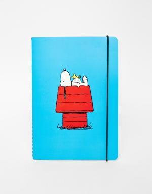 Peanuts B5 Notebook. Цвет: мульти