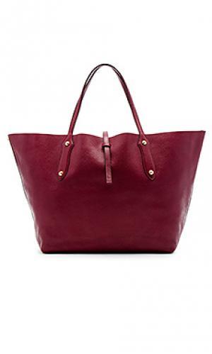 Большая сумка-тоут isabella Annabel Ingall. Цвет: вишня