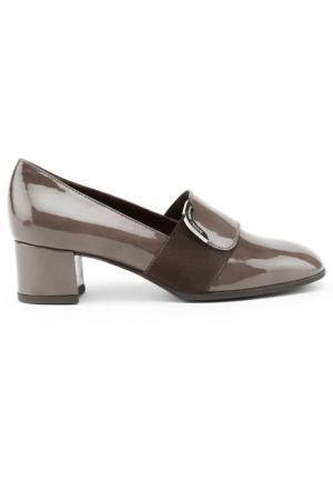 Туфли Donna Serena. Цвет: серый