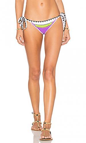 Низ бикини на завязках the tease Same Swim. Цвет: фиолетовый