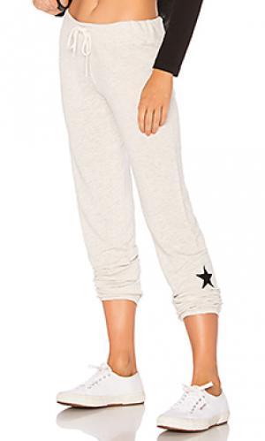 Спортивные брюки star MONROW. Цвет: серый
