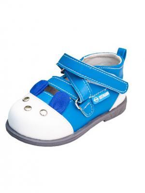 Обувь ортопедическая малосложная MALAGA, арт. 7.119.2 ORTMANN. Цвет: голубой