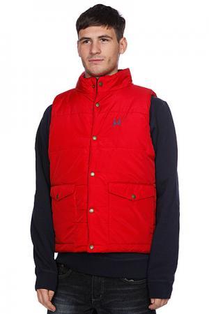 Жилет  Verses Puffer Vest Navy/Red Huf. Цвет: красный,синий