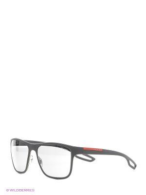 Солнцезащитные очки Prada Linea Rossa. Цвет: серый