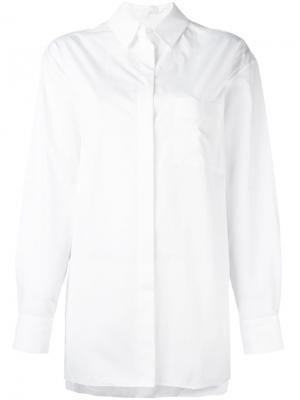 Классическая рубашка Alexandre Vauthier. Цвет: белый