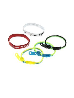 Комплект (Браслет - 5 шт.) Happy Charms Family. Цвет: красный, желтый, белый, синий, зеленый