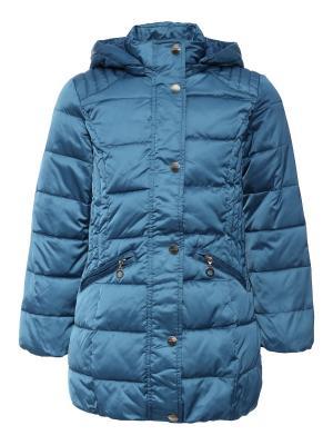 Пальто Finn Flare. Цвет: синий