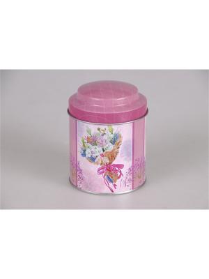 Емкость для сыпучих продуктов Magic Home. Цвет: розовый