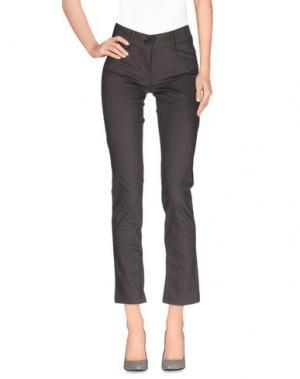 Повседневные брюки CLIÓ. Цвет: серый
