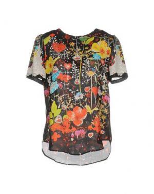 Блузка PICCIONE•PICCIONE. Цвет: черный