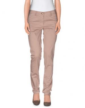 Повседневные брюки VERYSIMPLE. Цвет: светло-коричневый