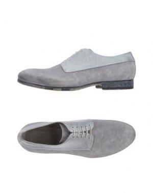 Обувь на шнурках CORVARI. Цвет: серый
