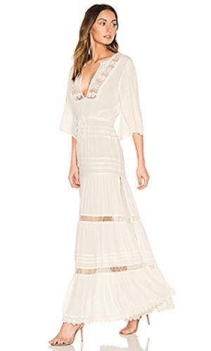 Платье ora Cleobella. Цвет: белый