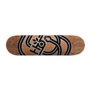 Дека для скейтборда  Serpent Pp Beige/Black 31.5 x 8.0 (20.3 см) Habitat. Цвет: бежевый,черный