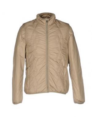 Куртка CONTE OF FLORENCE. Цвет: песочный