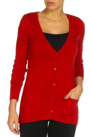 Кардиган U.S. Polo Assn.. Цвет: красный