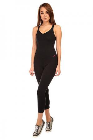 Комбинезон для фитнеса женский  New Zealand Anback Overall Black CajuBrasil. Цвет: черный