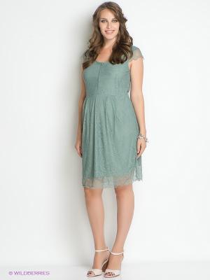Платье Mama Licious. Цвет: зеленый