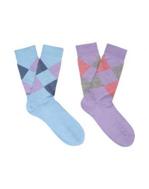Короткие носки BURLINGTON. Цвет: небесно-голубой