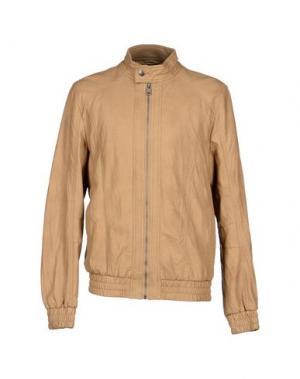 Куртка NEW BRAMS. Цвет: верблюжий