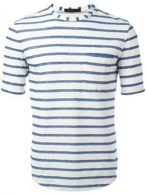 Striped T-shirt The Gigi. Цвет: белый