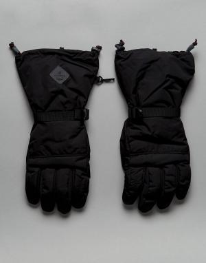 Didriksons 1913 Черные утепленные водонепроницаемые перчатки Rover. Цвет: черный