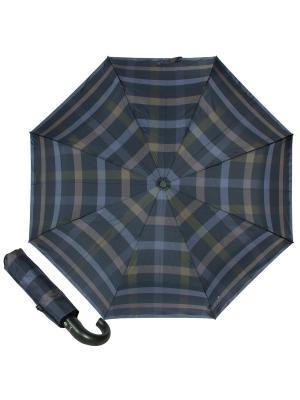 Зонт складной M&P C2796-OC Cletic Blue/Green. Цвет: темно-синий, хаки