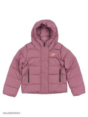 Куртка G NSW JKT UPTOWN 550 Nike. Цвет: розовый