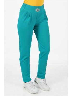 Спортивные брюки CROSS sport. Цвет: темно-зеленый
