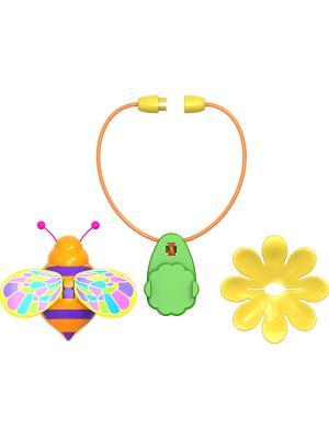Волшебный жучок с ожерельем Silverlit. Цвет: фиолетовый, желтый, оранжевый