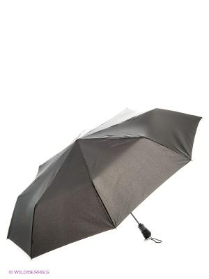 Зонт мужской автомат Fulton. Цвет: черный